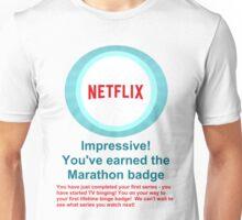 Netflix Binge Badge Unisex T-Shirt