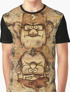 Twin Brothers - Gravity Falls Graphic T-Shirt