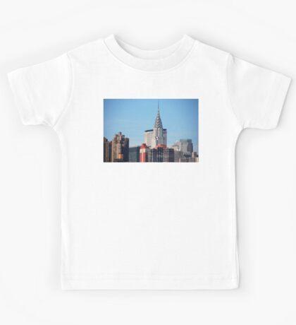 NYC - Chrysler & Met Life Buildings Kids Tee