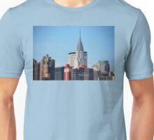 NYC - Chrysler & Met Life Buildings Unisex T-Shirt