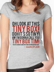 Markiplier Tiny Box Tim Women's Fitted Scoop T-Shirt