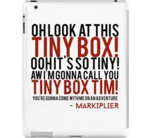 Markiplier Tiny Box Tim iPad Case/Skin