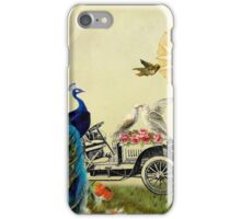 Bird in Paris iPhone Case/Skin