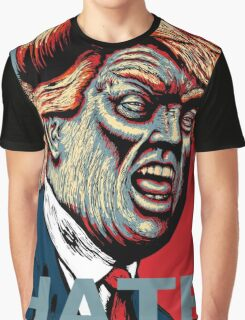 Trump Hate 2016 Graphic T-Shirt