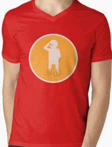 Recovering Perkaholic Mens V-Neck T-Shirt