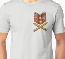 Booklovers Coat of Arms Unisex T-Shirt