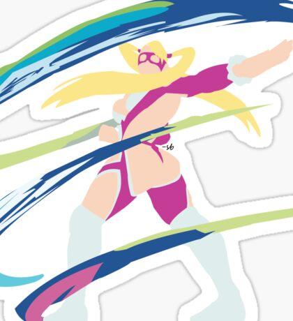 Rainbow Mika Alt 2 Sticker