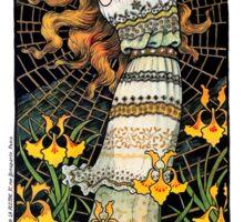 LIANE DE POUGY - FOLIES BERGERE  c. 1890 Sticker
