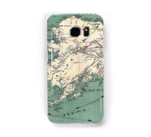 ALASKA GOLD RUSH SURVIVAL MAP/GUIDE  1897 Samsung Galaxy Case/Skin
