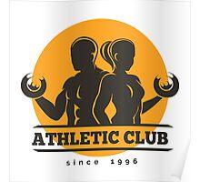 Sport Athletic Club Emblem Poster
