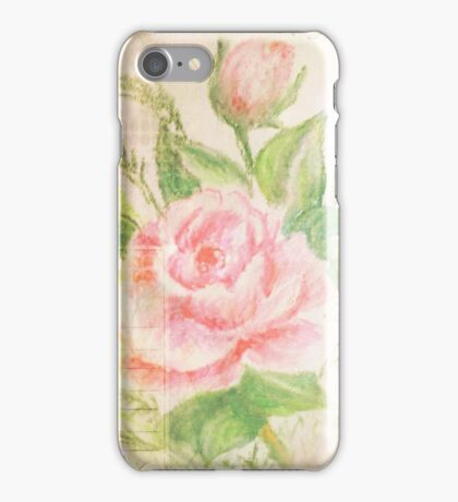 Rose with petals sweet. iPhone Case/Skin