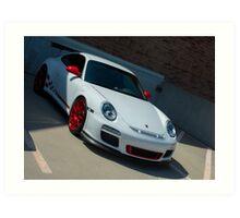 Porsche 911 GT Art Print