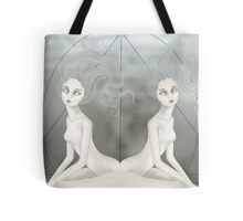 Twisted Twins Tote Bag