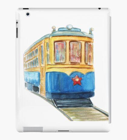 Old tram iPad Case/Skin