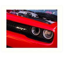 Dodge Challenger Hellcat Hellhole  Art Print