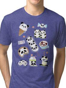 Panda Snacks Tri-blend T-Shirt