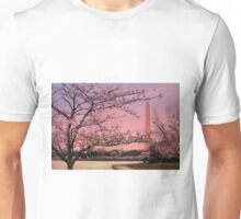 Washington Monument Cherry Blossom Festival Unisex T-Shirt