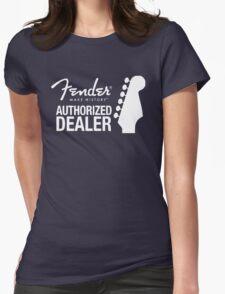 FENDER DEALER Womens Fitted T-Shirt