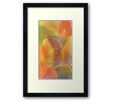 Girl - Soft drawing 06 Framed Print