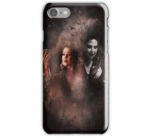 The Queen and the apple iPhone Case/Skin