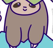 Easter Egg Sloth Sticker
