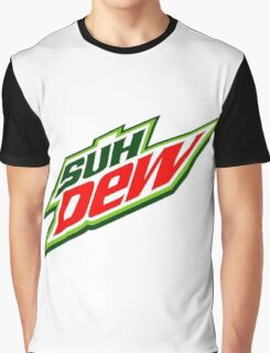 SUH DUDE SUH DEW MOUNTAIN DEW Graphic T-Shirt