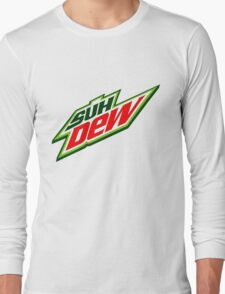 SUH DUDE SUH DEW MOUNTAIN DEW Long Sleeve T-Shirt