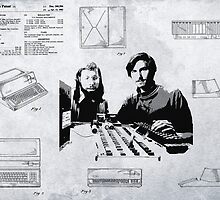 APPLE COMPUTER FIRST PATENT - JOBS & WOZNIAK by Daniel-Hagerman