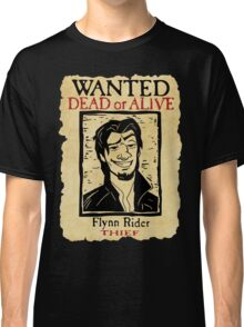WANTED FLYNN RIDER: BROKEN NOSE Classic T-Shirt