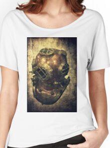 DEEP SEA DIVING HELMET GRUNGE Women's Relaxed Fit T-Shirt
