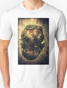 DEEP SEA DIVING HELMET GRUNGE Unisex T-Shirt