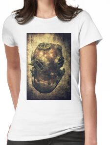 DEEP SEA DIVING HELMET GRUNGE Womens Fitted T-Shirt