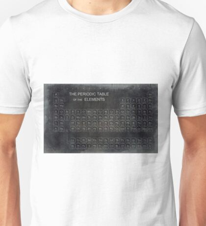 AGED PERIODIC TABLE Unisex T-Shirt