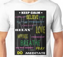 KEEP CALM DIY THERAPY PANEL Unisex T-Shirt