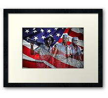 VIETNAM's SPIRIT WARRIORS Framed Print
