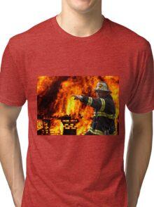 COMMAND FIRE CHIEF Tri-blend T-Shirt