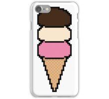 Pixel Ice Cream Cone iPhone Case/Skin