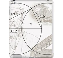 ARCHIMEDES and his PI CONSTANT iPad Case/Skin