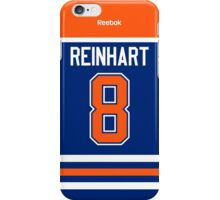 Edmonton Oilers Griffin Reinhart Jersey Back Phone Case iPhone Case/Skin