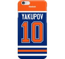 Edmonton Oilers Nail Yakupov Jersey Back Phone Case iPhone Case/Skin