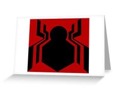 Tom Holland Spiderman Greeting Card