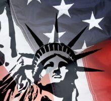 AMERICAN VALUES Sticker