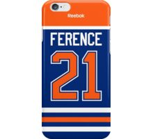 Edmonton Oilers Andrew Ference Jersey Back Phone Case iPhone Case/Skin