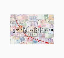 FINANCIAL CATASTROPHE EQUATION - BLACK SHOLES Unisex T-Shirt