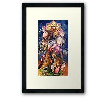 the heroes - nanatsu no taizai characters Framed Print