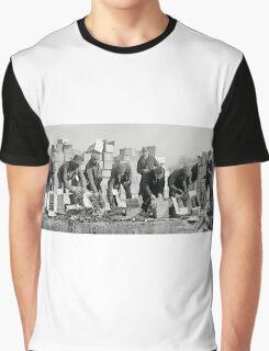 FEDERAL POLICE DESTROY PROHIBITION LIQUOR 1923 Graphic T-Shirt