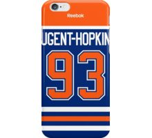 Edmonton Oilers Ryan Nugent-Hopkins Jersey Back Phone Case iPhone Case/Skin