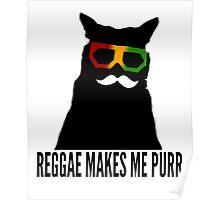 Reggae Cat. Poster