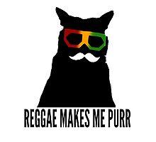 Reggae Cat. Photographic Print