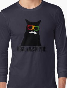Reggae Cat. Long Sleeve T-Shirt